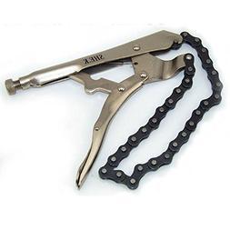 locking chain clamp vise steel
