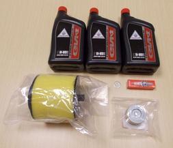 New 1988-2000 Honda TRX 300 TRX300 ATV OE Complete Oil Servi