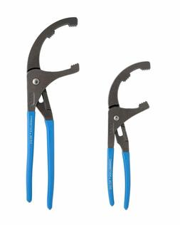 Channellock OF-2 Oil Filter/PVC Plier Set, 2-Piece