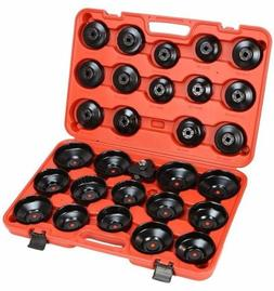 30pcs Oil Filter Cap Wrench Cup Socket Tool Set Mercedes BMW