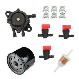 Oil Filter Fuel Pump For Cub Cadet LTX 1040 LT1045 LTX 1045
