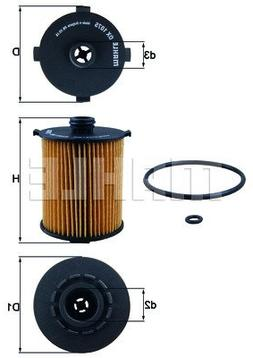 ox 1075d eco engine oil filter