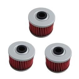 poweka new pack of 3 oil filter