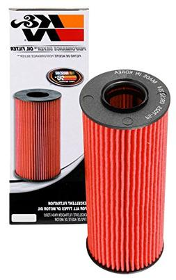 K & N Filters PS-7025 High Flow Oil Filter; H-4.938 in.; OD-