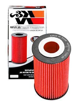 K & N Filters PS-7027 High Flow Oil Filter; H-3.75 in.; OD-2