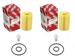 Set of  Toyota 04152-YZZA4 Oil Filter