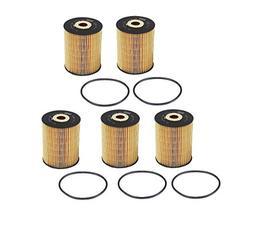 Set of 5 Engine Oil Filter Mann 021115562A / 021115562AMN /