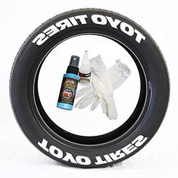 Tire Stickers Toyo Tires Tire Lettering Add-On Car Accessory