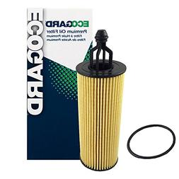 ECOGARD X10040 Cartridge Engine Oil Filter for Conventional