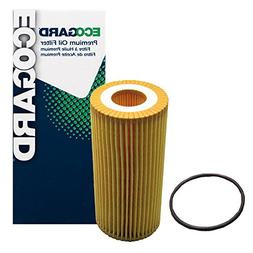 ECOGARD X10260 Cartridge Engine Oil Filter for Conventional