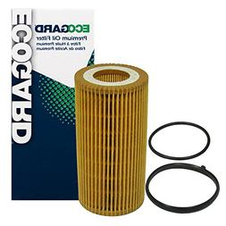 ECOGARD X5581 Cartridge Engine Oil Filter for Conventional O